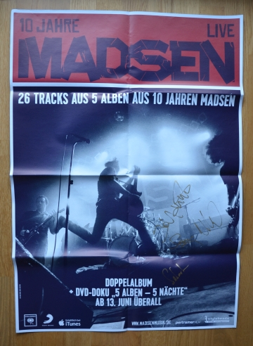 1 x Promo Poster - Live-CD