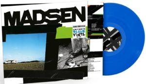 madsen blaue Vinyl LP