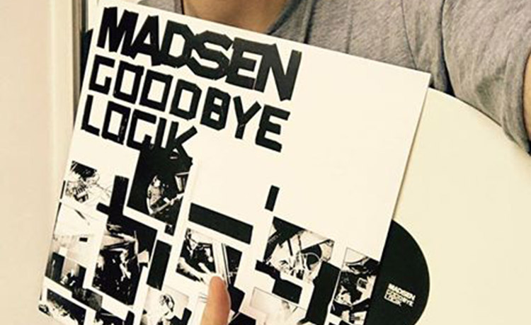 Goodbye Logik Vinyl weiß Record Store Day 2017