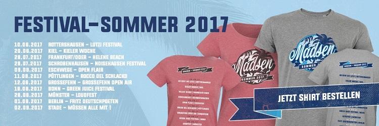 MADSEN Festivalsommer 2017