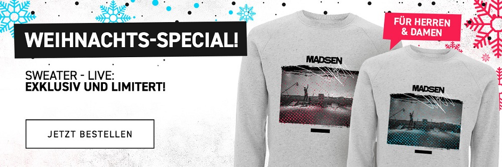 Weihnachts-Special Madsenmerch